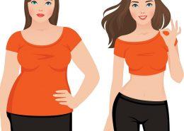 رژیم لاغری در یک ماه