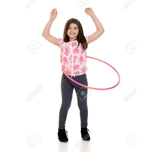 حلقه زدن در ورزش برای آب کردن شکم و پهلو