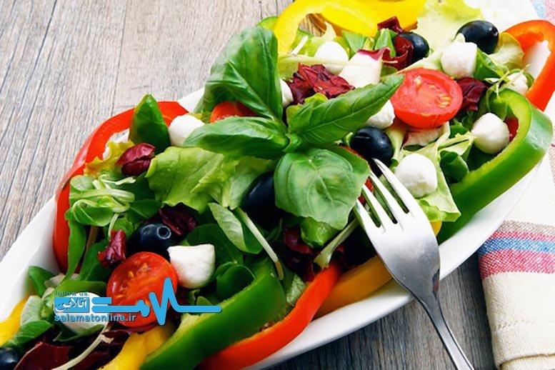 رژیم پروتئین و سبزیجات