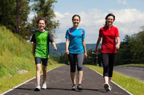 تجربه های لاغری موفق با پیاده روی تند