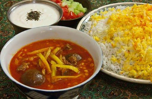 ناهار برای کاهش وزن و لاغری