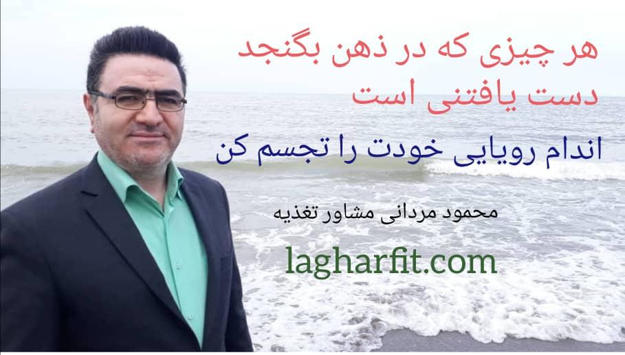 محمود مردانی و تجسم خلاق
