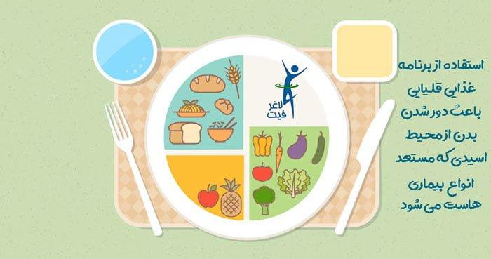 برنامه غذایی قلیایی محمود مردانی